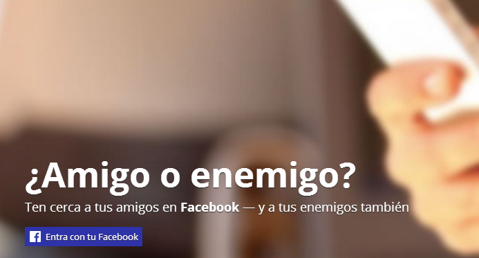 amigo o enemigo facebook