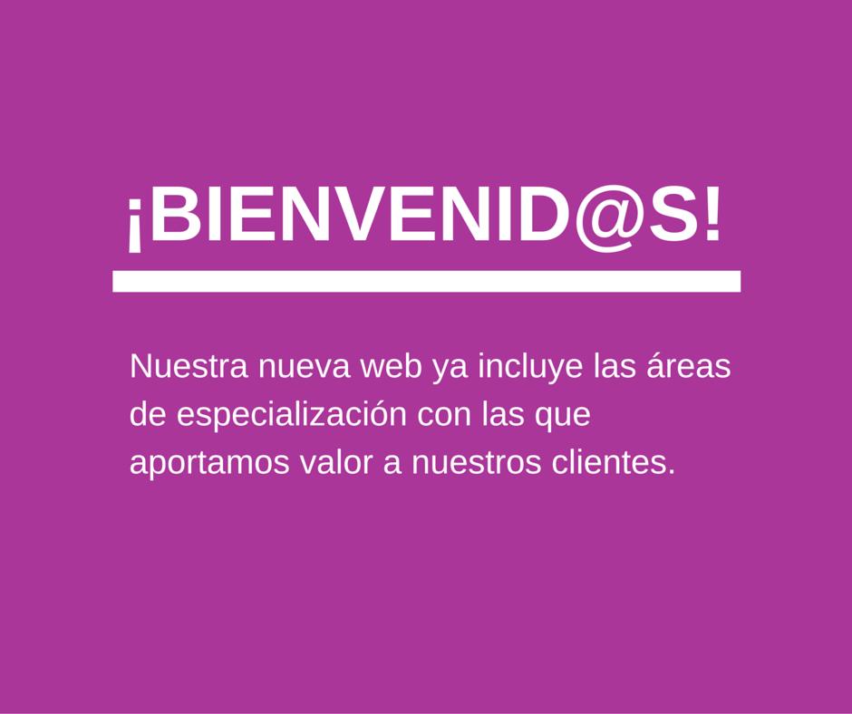 Hemos querido que esta web reflejara la evolución de la agencia y todo lo que puede ofrecer a sus clientes.