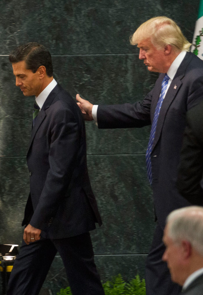 Donald Trump y Enrique Peña Nieto
