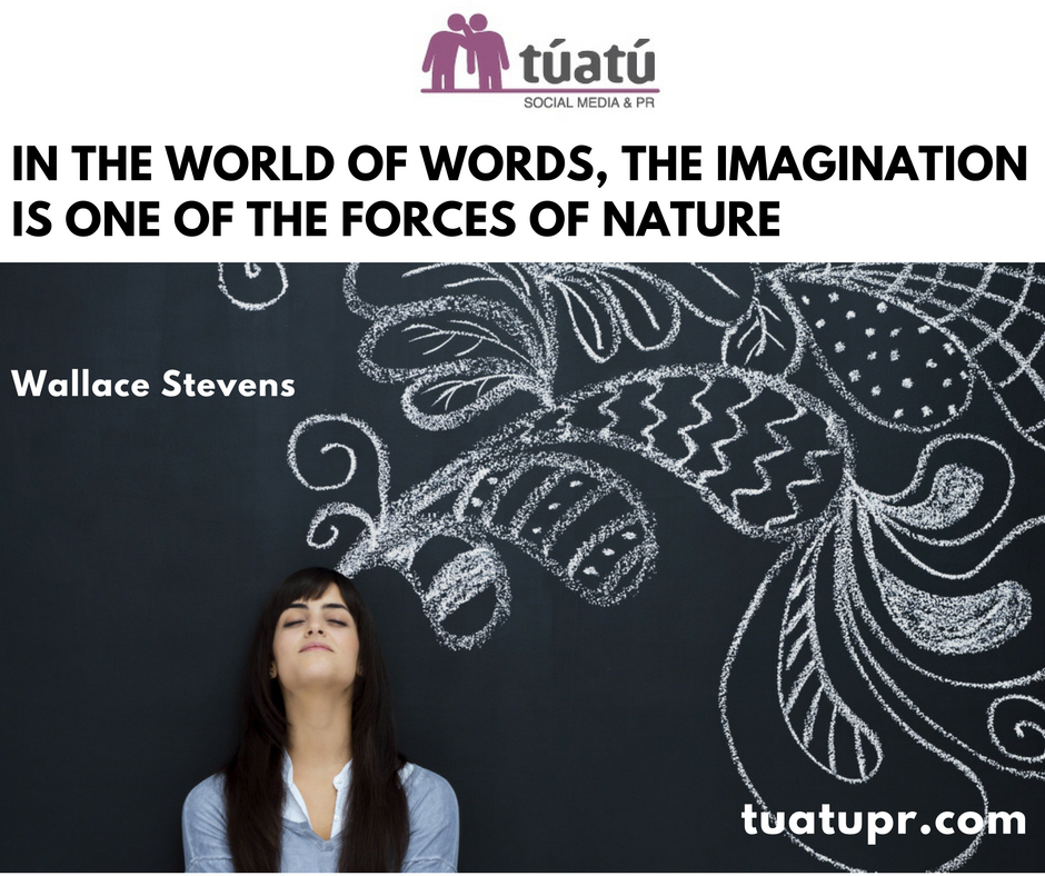"""In the world of words, the imagination is one of the forces of nature"""