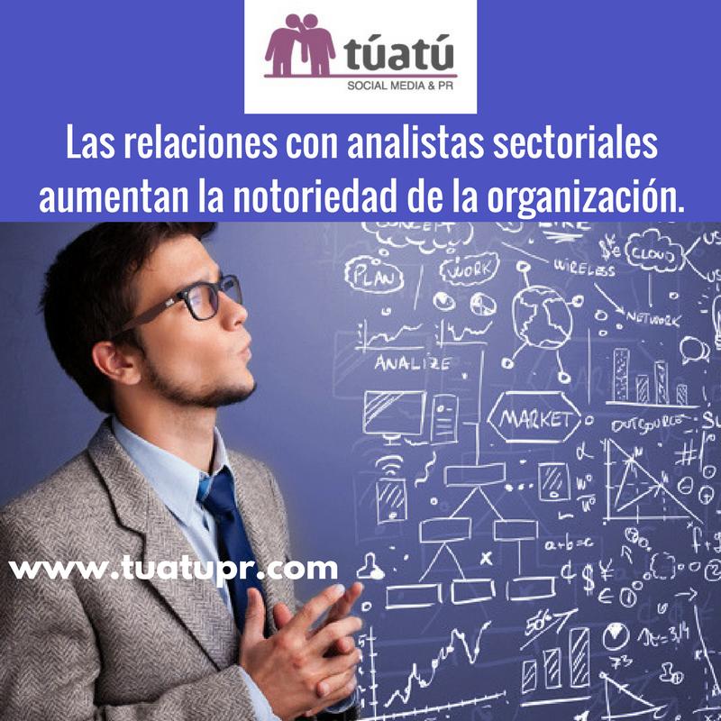 Agencia de comunicación: Analistas sectoriales