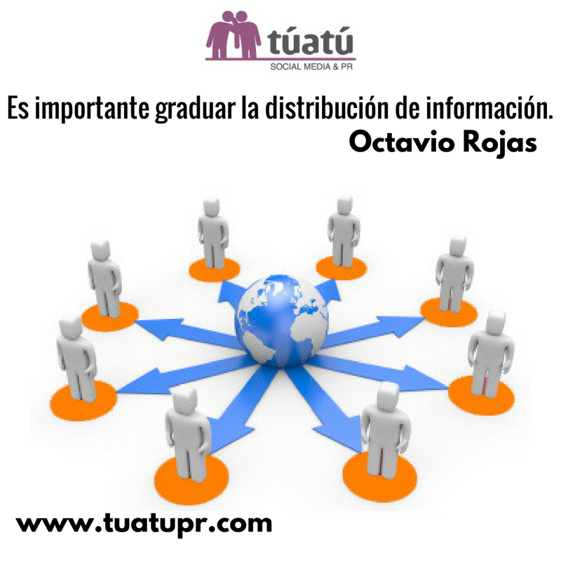 Agencia de comunicación: la graduación de la información
