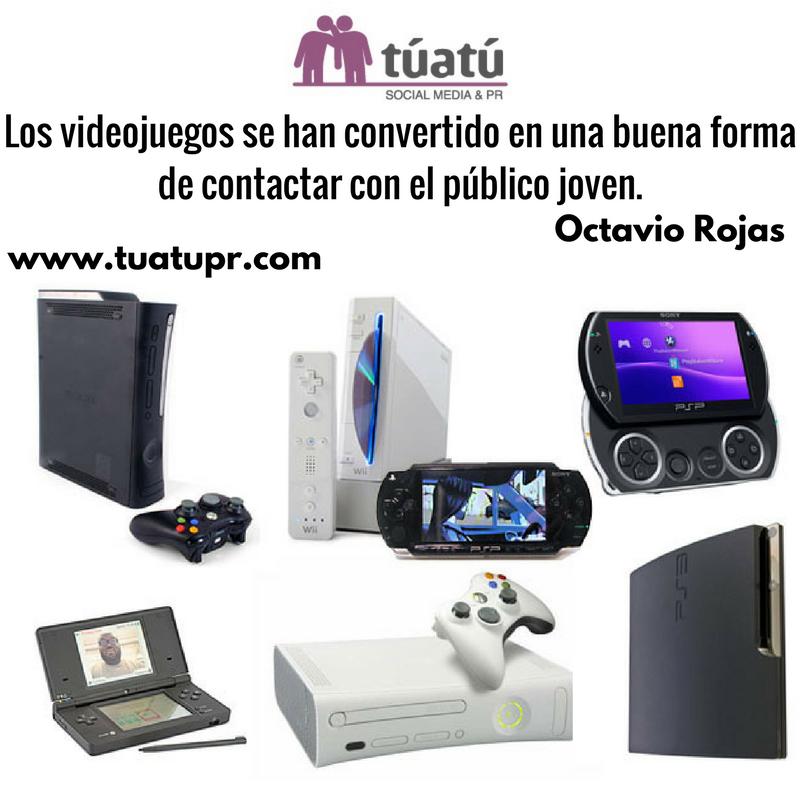 Agencia de comunicación: Los videojuegos
