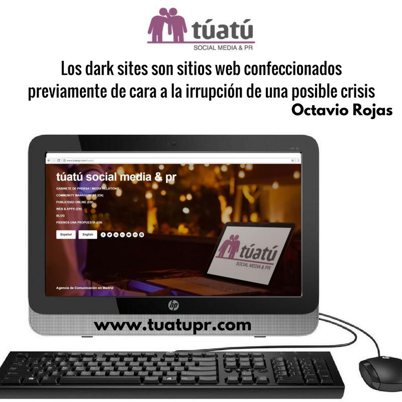 Agencia de comunicación: Dark Sites
