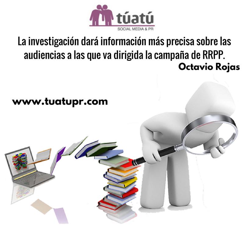 Agencia de comunicación: Investigación