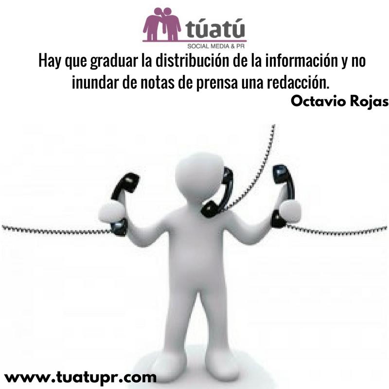 Agencia de comunicación: Graduar la información