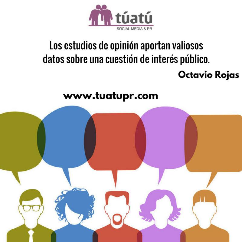 Agencia de comunicación: Estudios de opinión
