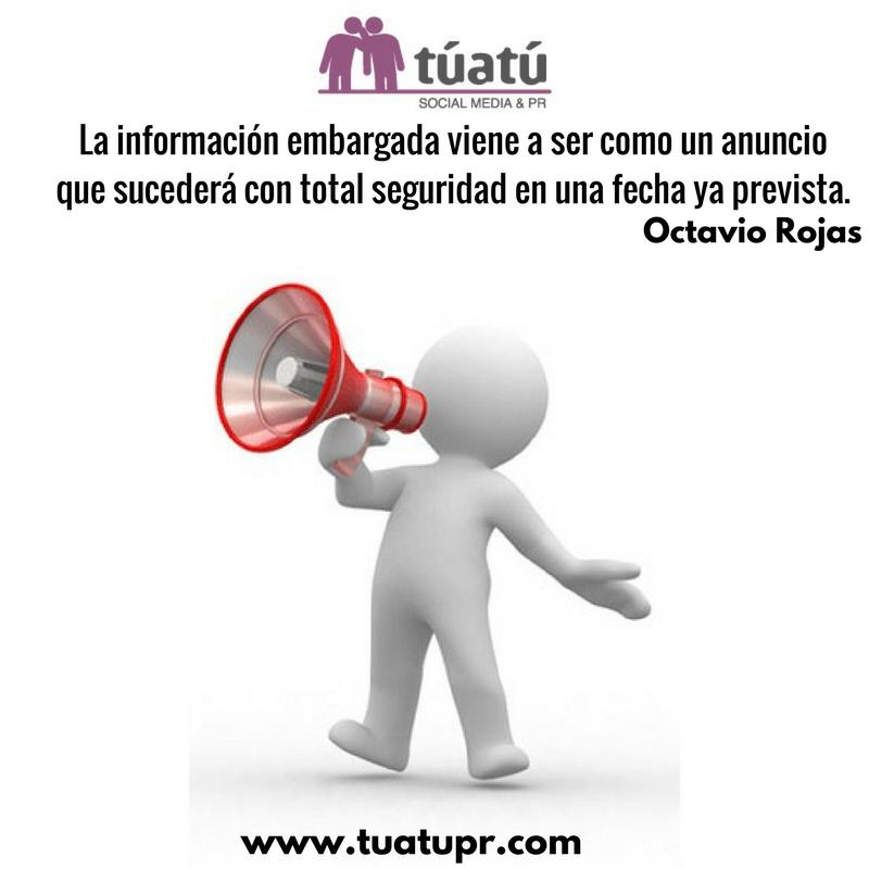 Agencia de comunicación: Información embargada