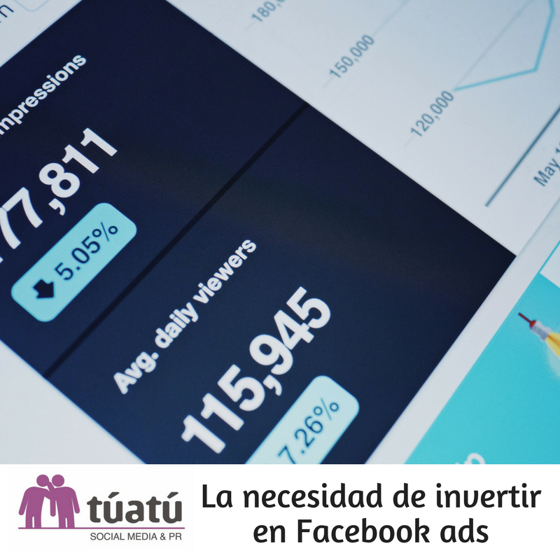 La necesidad de invertir en Facebook Ads