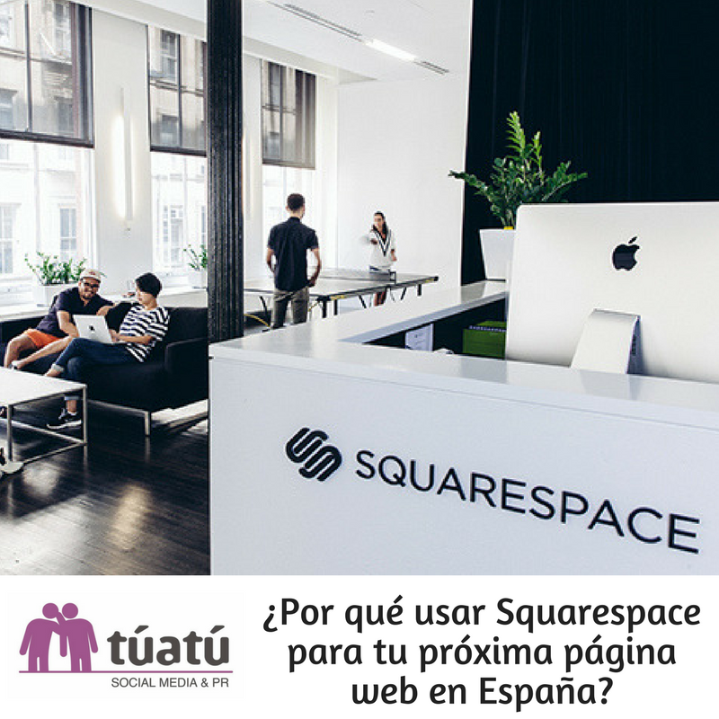 Usar Squarespace para tu próxima web en España