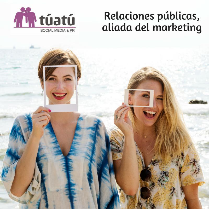 Relaciones públicas, aliada del marketing