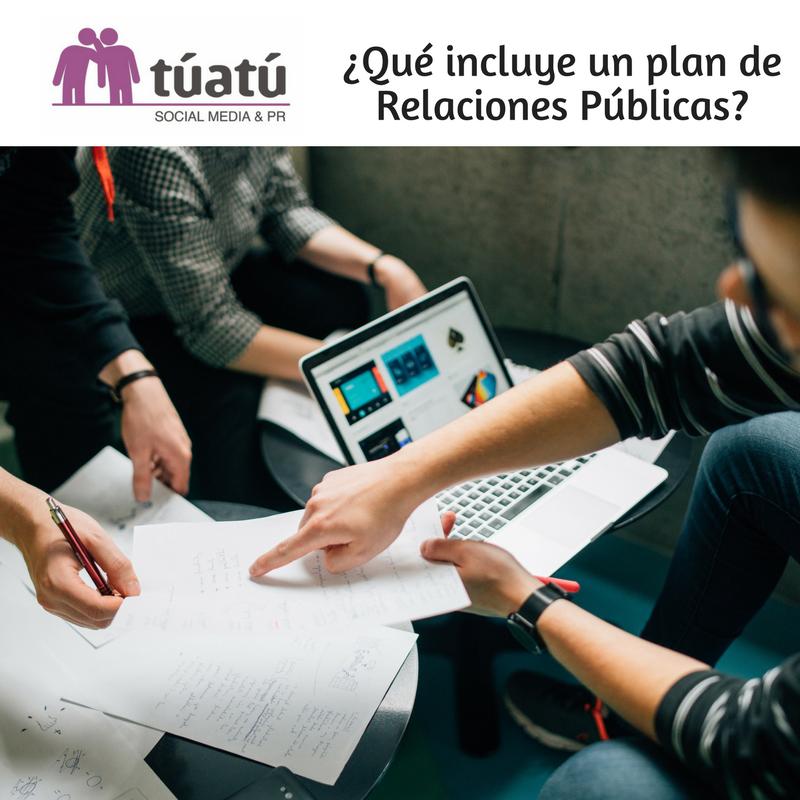 ¿Qué incluye un plan de Relaciones Públicas?