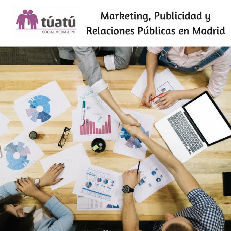 Marketing, Publicidad y Relaciones Públicas en Madrid