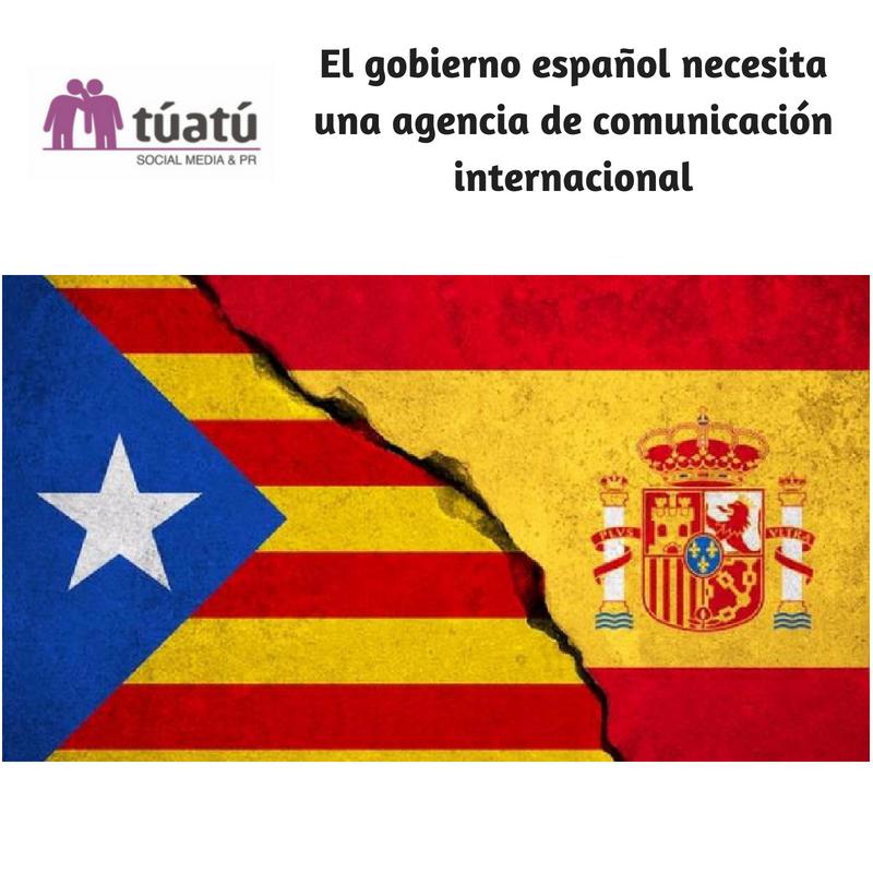 El gobierno español necesita una agencia de comunicación internacional