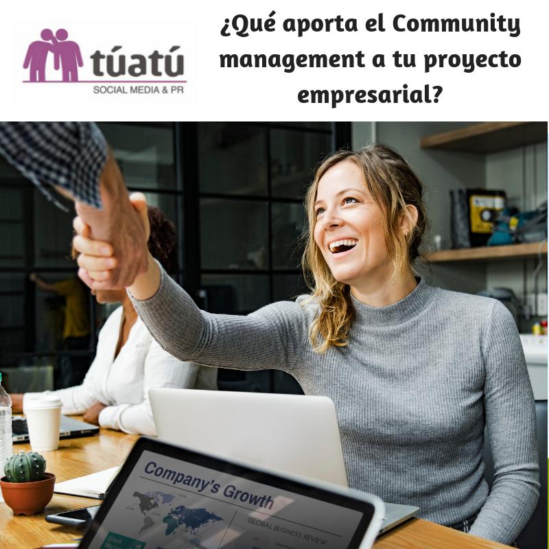 Community management aporta a proyecto empresarial