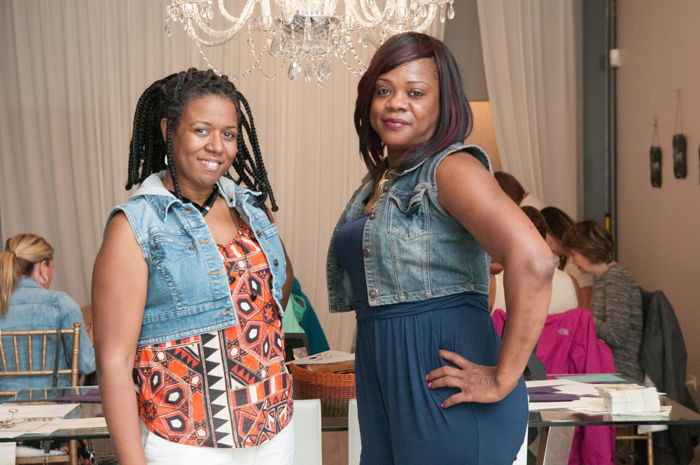 Finally thanks to my rockstar cousin Carmesha who was a tremendous help in making the attendees feel comfortable. xoxo!