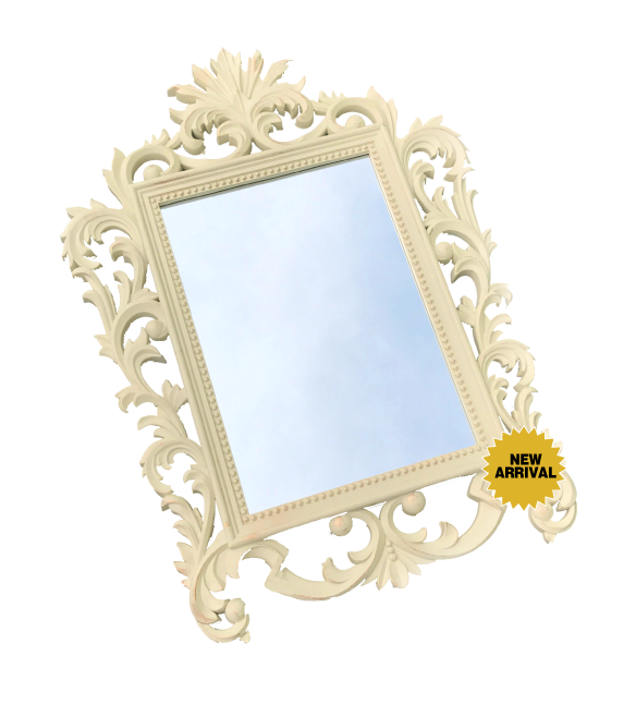 "16"" x 20"" White ornate frame. Perfect for signature drinks or station identification (i.e. candy buffet, photobooth, etc.) $35 