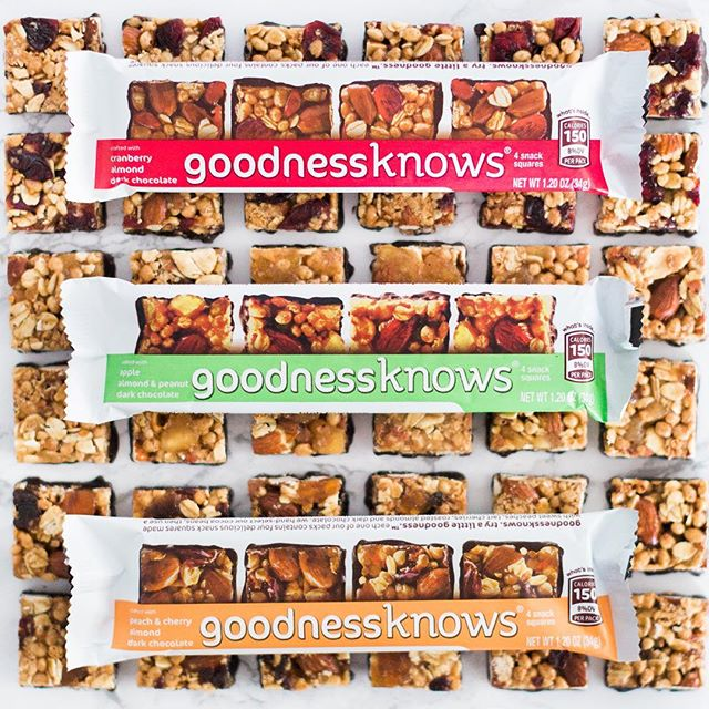 goodness on goodness on goodness. What more could you want?! #wecanthinkofafewthings #TryALittleGoodness . . . #snacksquares #cranberries #apples #peaches #cherries #almonds #peanuts #darkchocolate #goodness #snacktime #yum #delicious #goodnessknows
