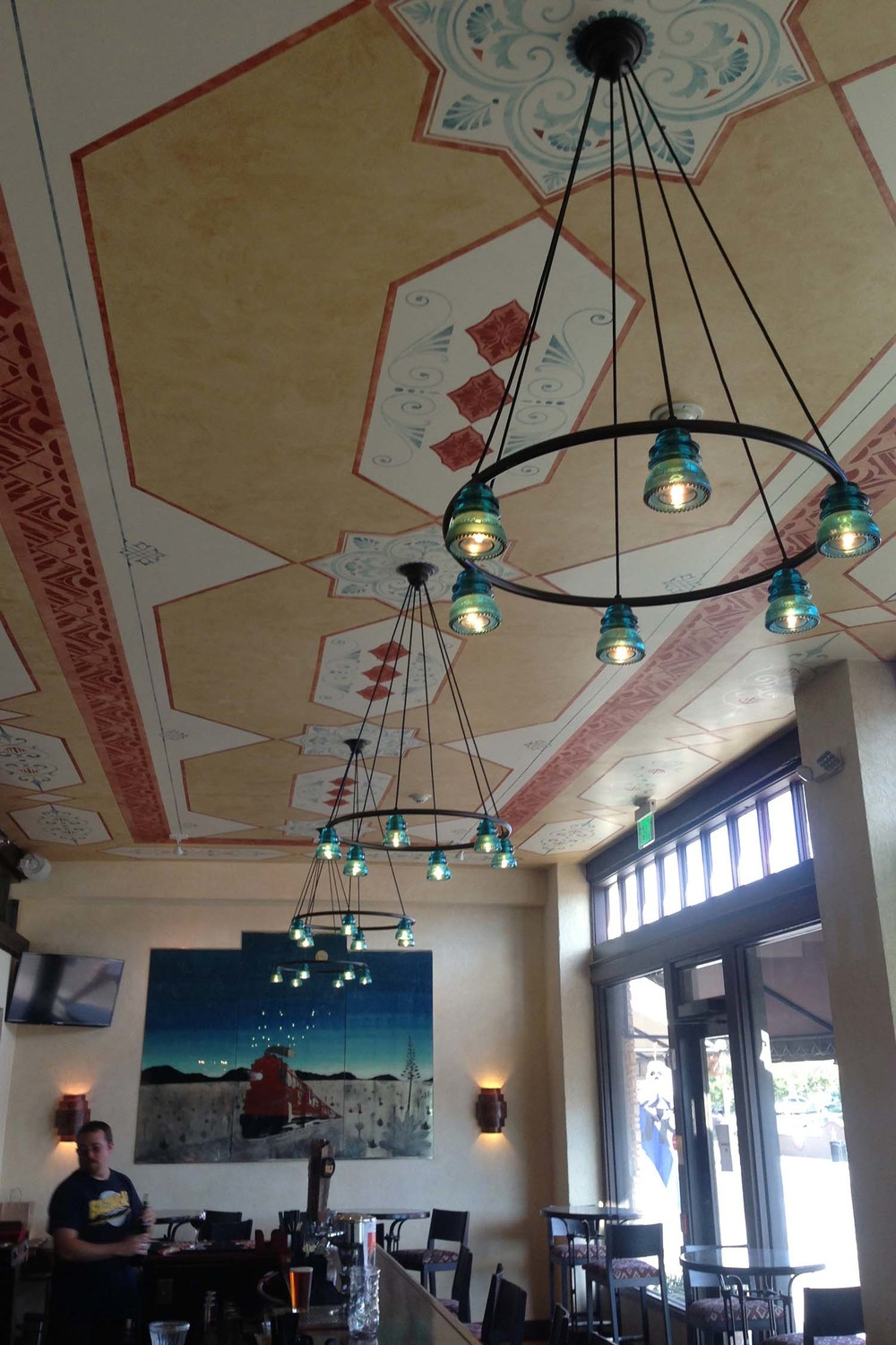 Painted Ceiling / Commercial Space