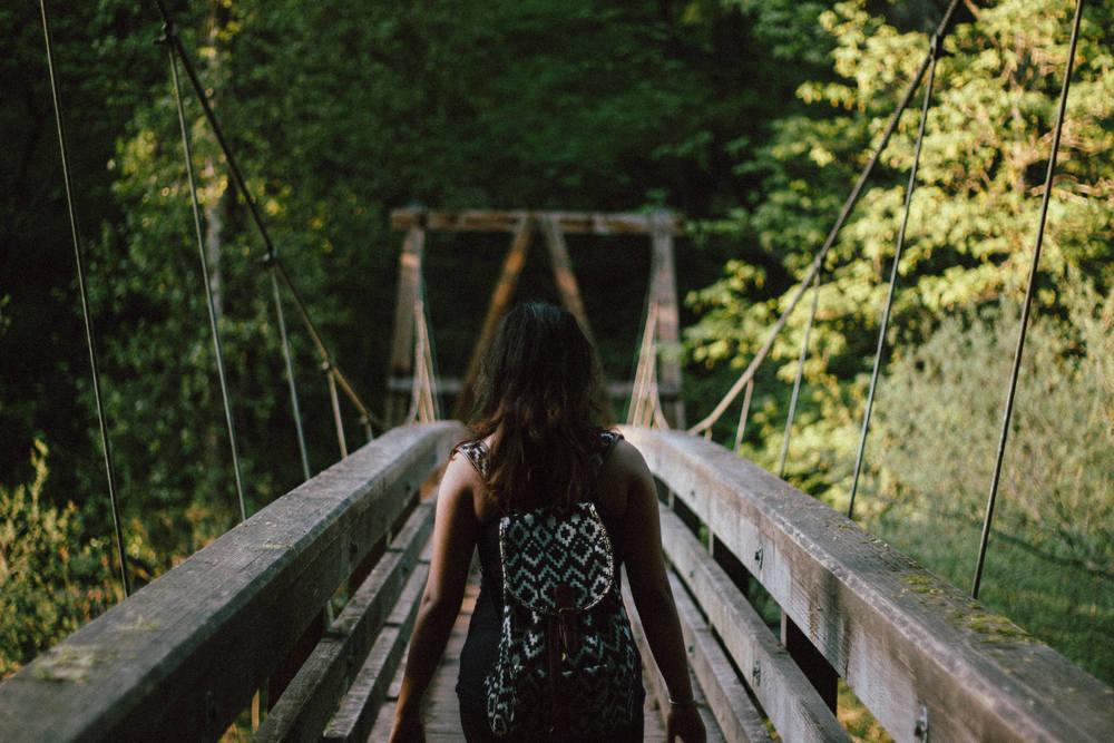 How I walked away