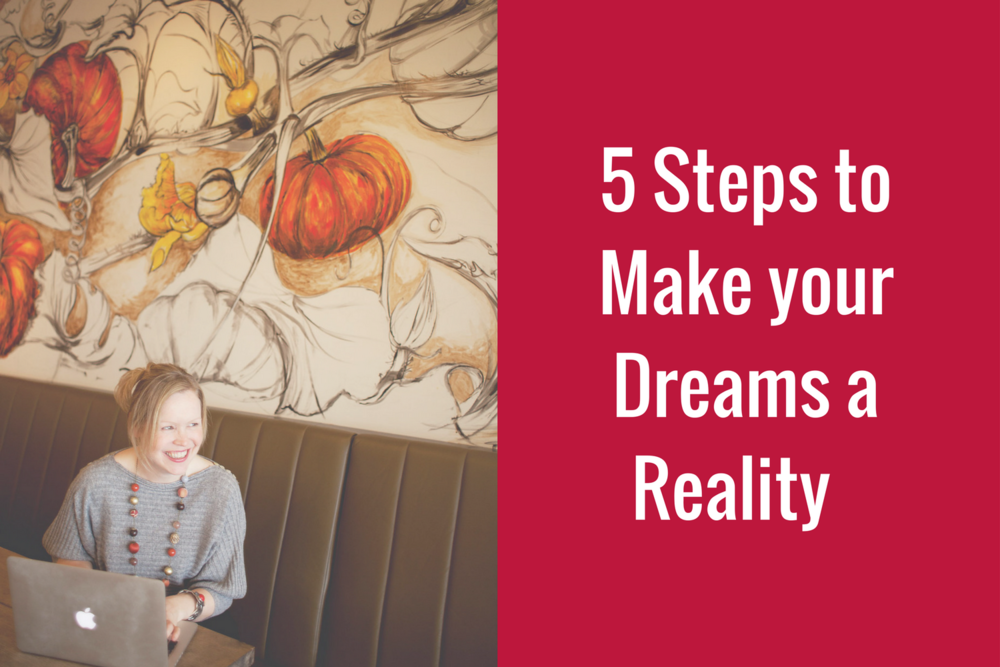 5 Steps to Make your Dream a Reality
