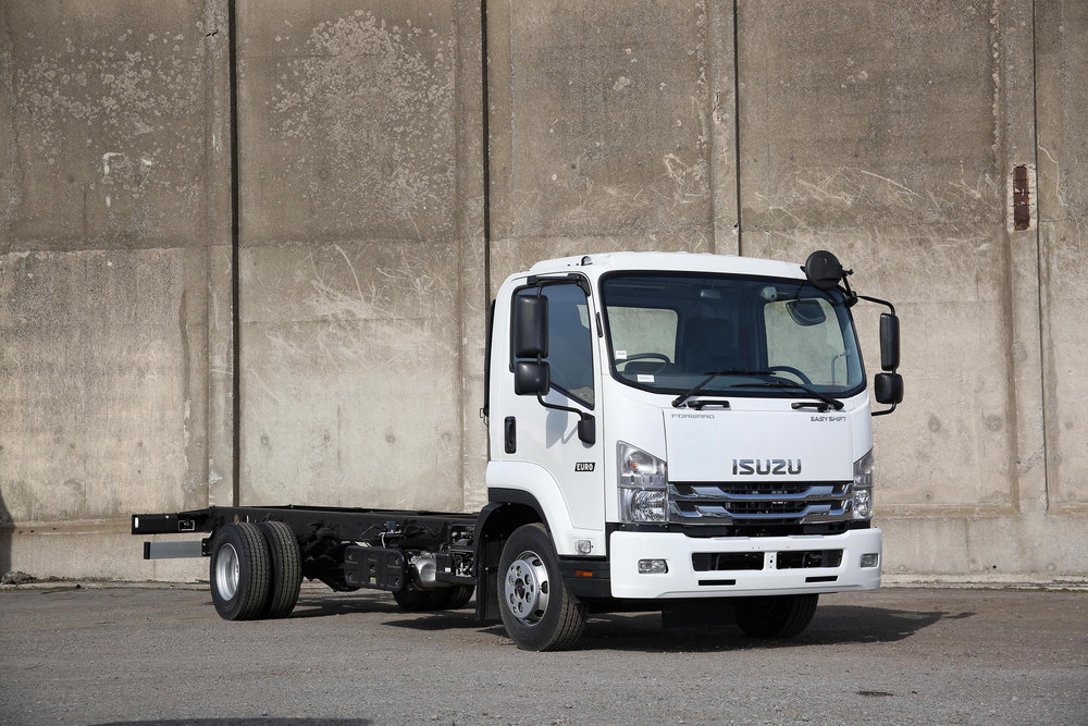 ISUZU 11-13.5 TONNE - Versatile and powerful, with big payload and small footprint. Available in multiple specifications.