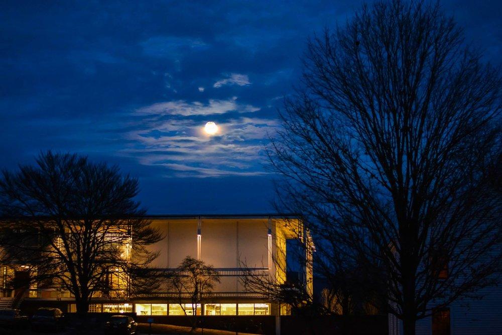 crossett library, bennington college | bennington, vt