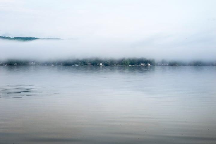 April fog.