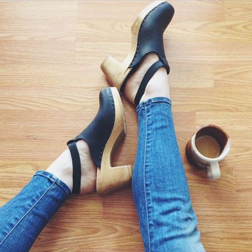 Clogs by Sven. Photo cred Stylethrive.com  Trendy Tuesday Best or Bust: Return of the Clogs