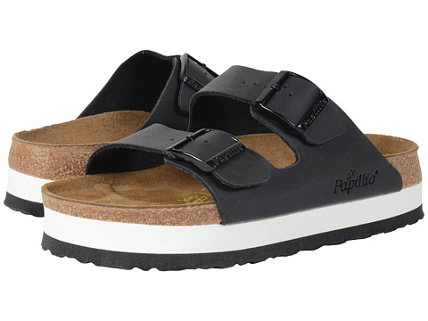 Birkenstock Papillo Arizona Platform. Available locally, at  1,2,3 Shoes