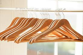 Matching hangers makes clothing display clean and simple each morning.