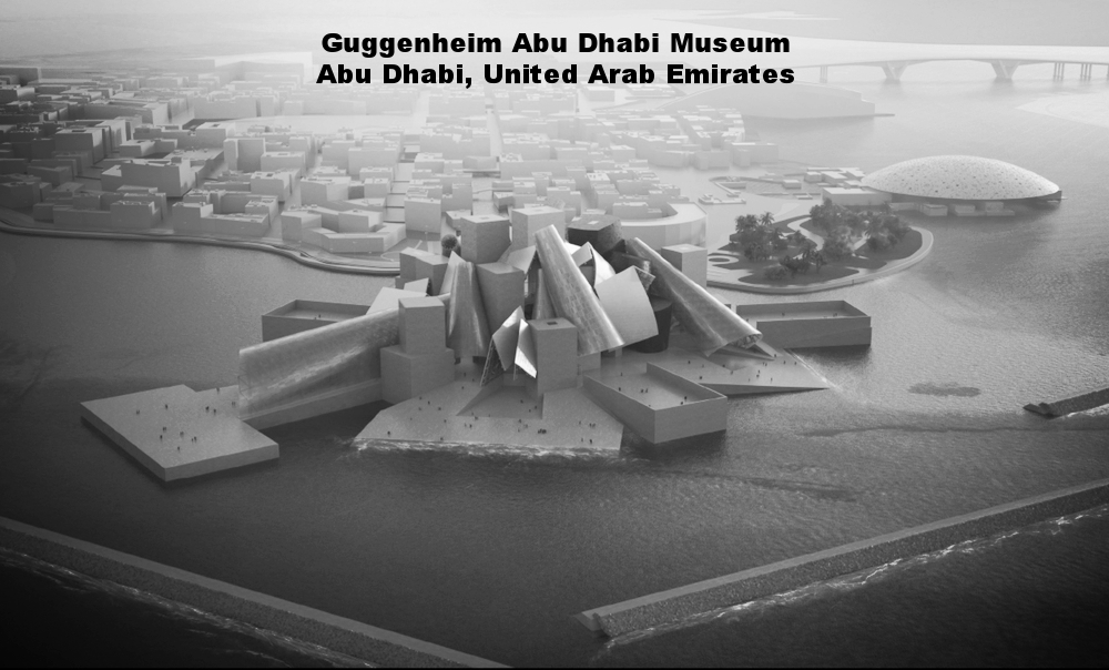 Copy of GUGGENHEIM ABU DHABI MUSEUM – ABU DHABI, UNITED ARAB EMIRATES