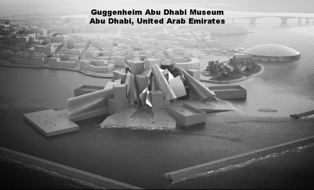 GUGGENHEIM ABU DHABI MUSEUM – ABU DHABI, UNITED ARAB EMIRATES