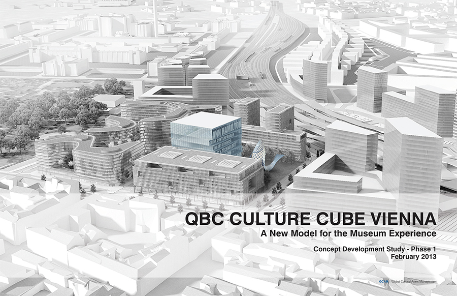QBC Culture Cube Vienna: A New Model for the Museum Experience