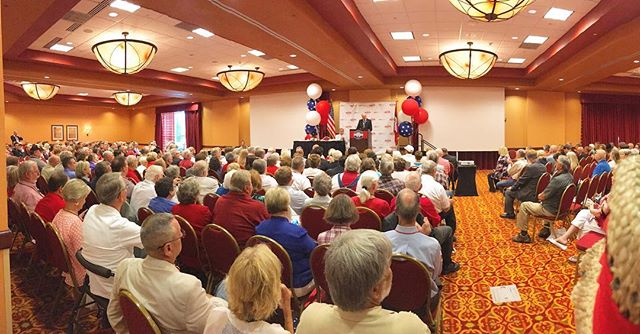 @ #ARGOP State Convention we will certify candidates, vote on state platform & elect 6 presidential electors.  #arpx