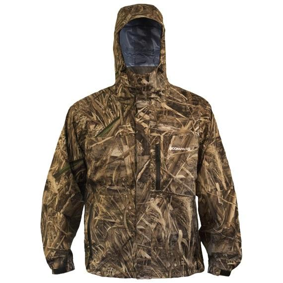 8b3730044f819 The Gale Camo Rain Jacket in Realtree Xtra and MAX-5 provides superior  value and top-of-the-line construction for the avid outdoorsman.