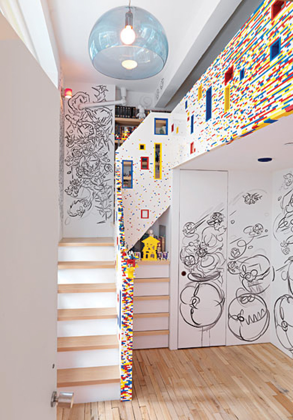 Chelsea Loft LEGO Stair_I-Beam Design _Photo by Thomas Loof_NY Magazine.jpg