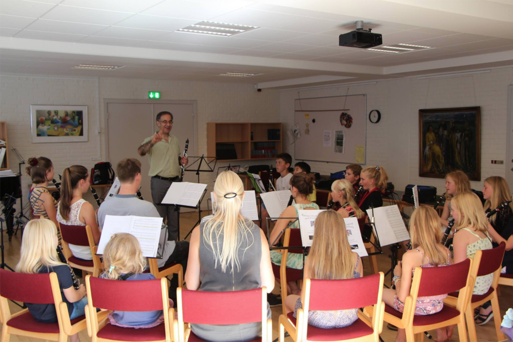 Teaching in Copenhagen, August 2016