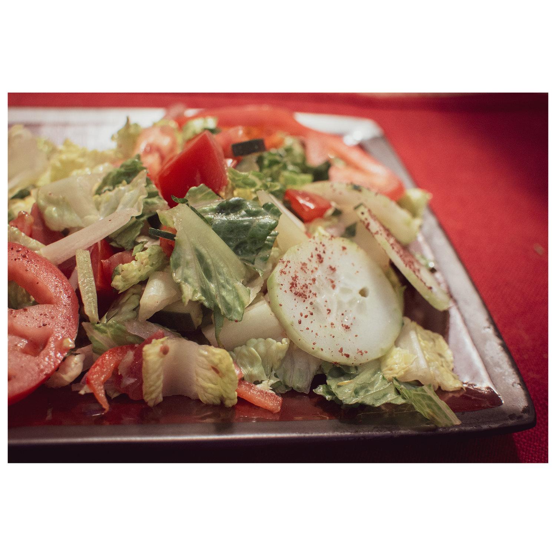 Chef Salad Mediterranean Restaurant Menu