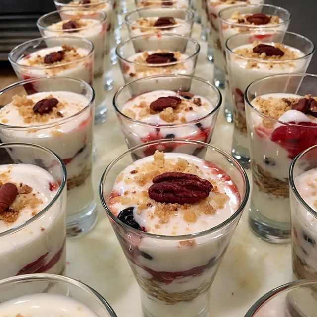 We have yogurt parfait for days #yogurtparfait #goodeats #localbuisness #seaport #fultonst #madefreshdaily