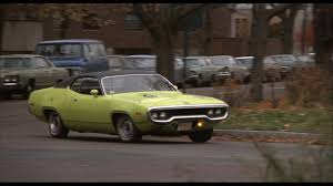 The Plymouth Road Runner, in the true color of cool, lime-green.