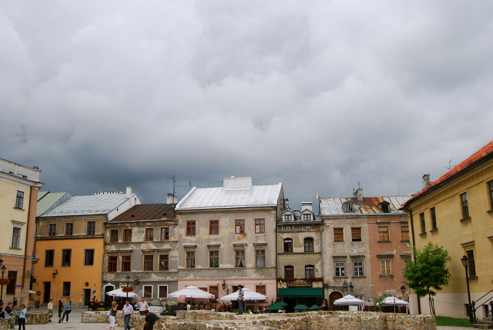 Polish city square
