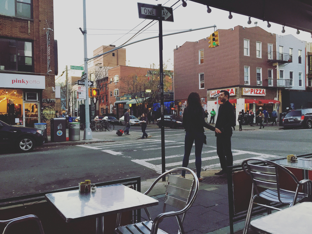 Williamsburg cafe