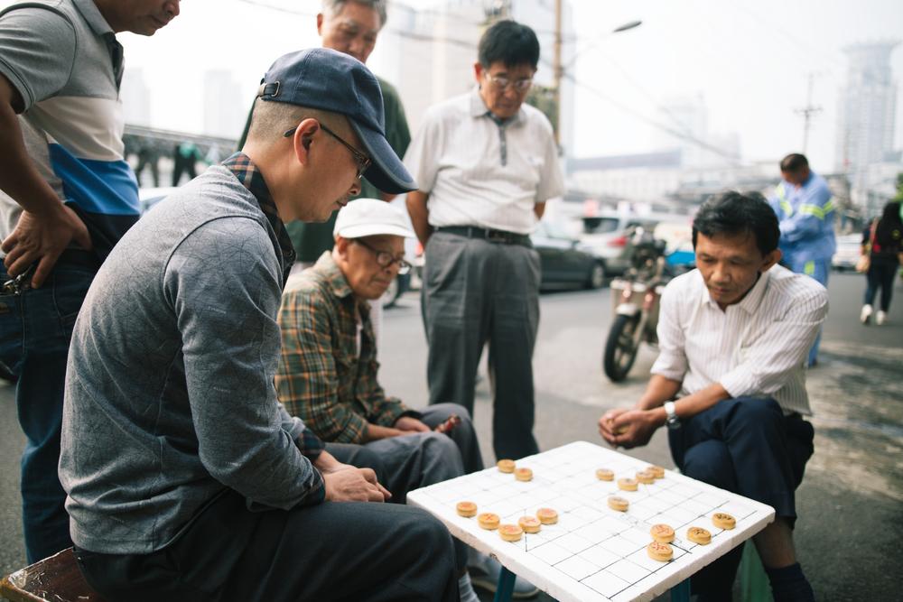 Mahjong in Shanghai