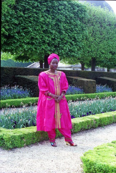 Malian woman in Paris