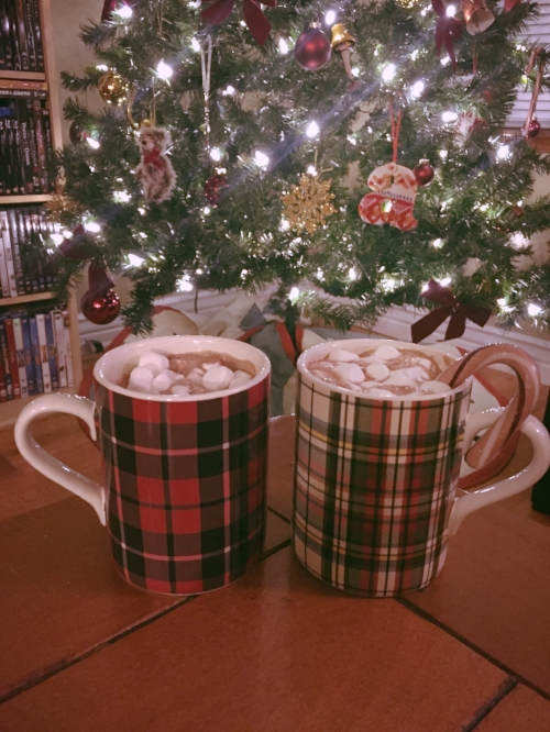 I'm also loving these plaid mugs from Pottery Barn, find them  here .
