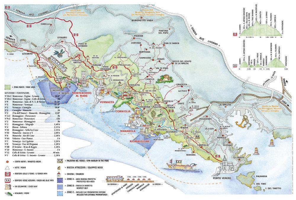 Image from Parque Nazionale delle Cinque Terre