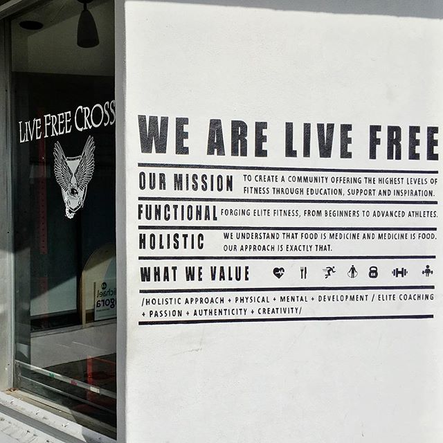 """WE ARE LIVE FREE"" Painted this mission statement for @livefreecrossfit 🙏💪🏼 . . . . .  #love #drawings #igers #anime  #bestoftheday #instagood #likesforlikes #doodle #follow #followalways #photooftheday #doodles  #illustration #happy #beautiful #followforfollow #likes4likes #instadaily #illustration #miamiartist #artist #likeforlike #followback #topliketags #instalike #drawing #tattooart #follow4follow"
