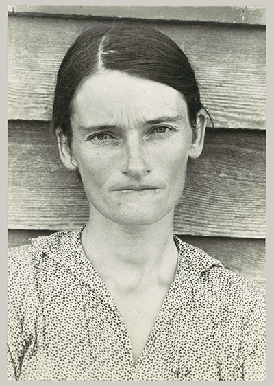 Walker Evans  Alabama Tenant Farmer Wife (photo of Allie Mae Burroughs)  1935
