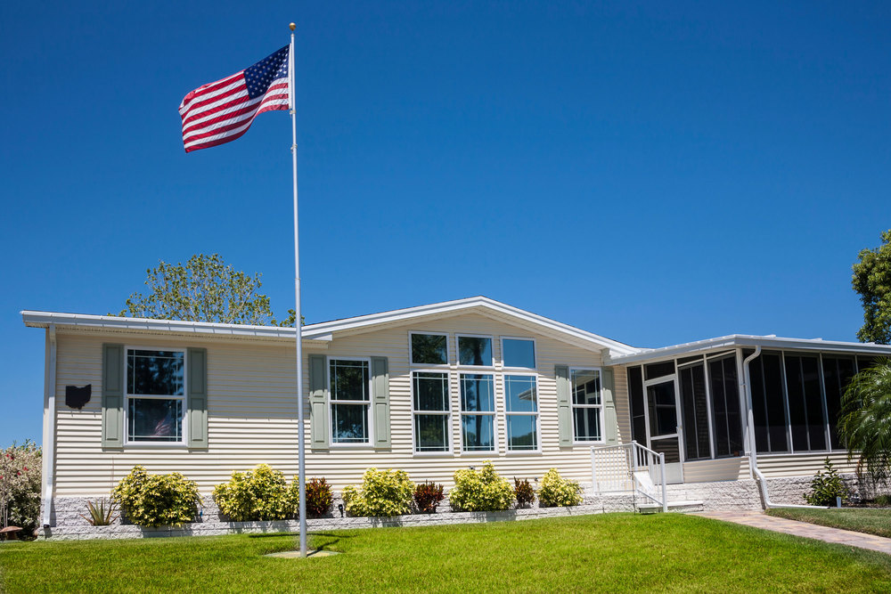 "Say ""hello"" to today's manufactured homes!"